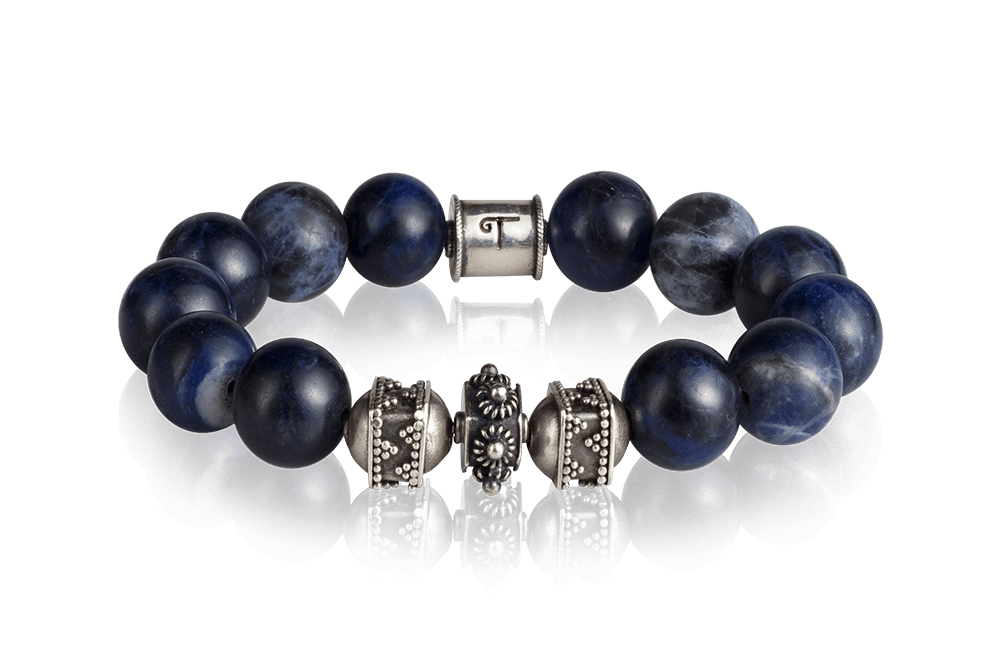 Divine sparkling Sodalite - Tokah bracelet